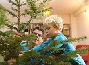 Weihnachtsbaum lagern bis zum Aufstellen